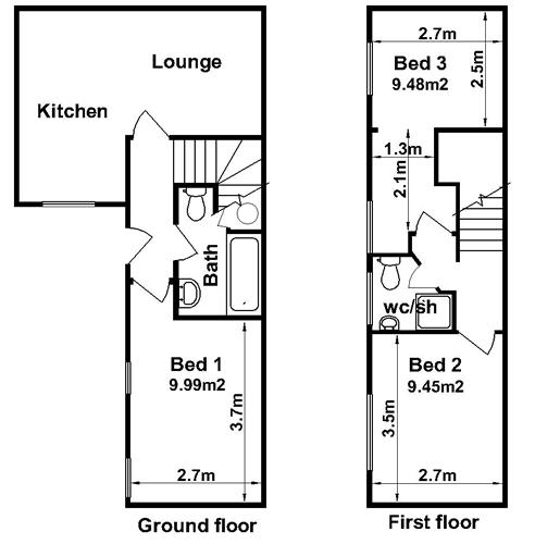 Three Bedroom Properties In Northampton